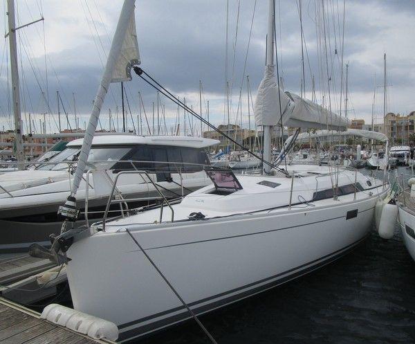 hanse 350 bateau voilier hanse bateau occasion philibert plaisance. Black Bedroom Furniture Sets. Home Design Ideas