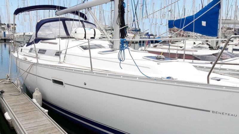 oceanis 343 clipper bateau voilier beneteau bateau occasion philibert plaisance. Black Bedroom Furniture Sets. Home Design Ideas