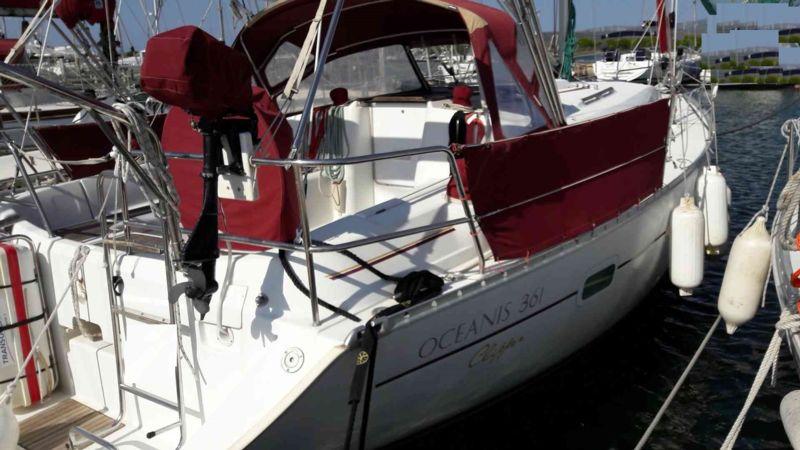 oceanis 361 clipper bateau voilier beneteau bateau occasion philibert plaisance. Black Bedroom Furniture Sets. Home Design Ideas