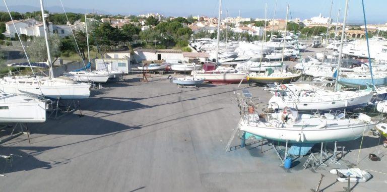 Nouveauté : Places de port à sec disponibles
